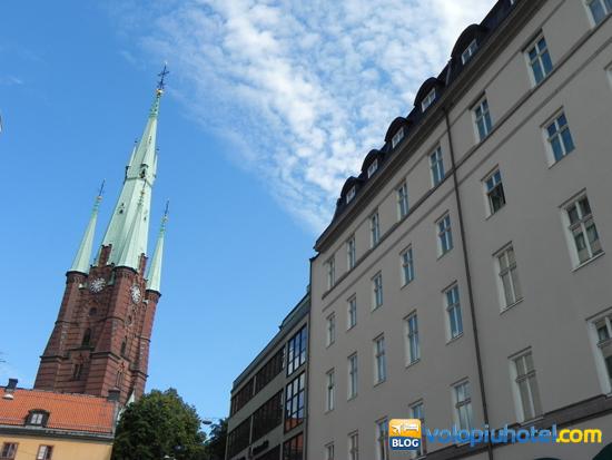 Il centro di Stoccolma Gamla Stan