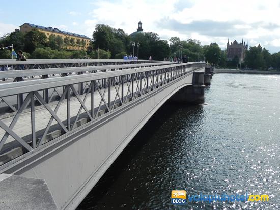 Il ponte di Skeppsholmsbron a Stoccolma