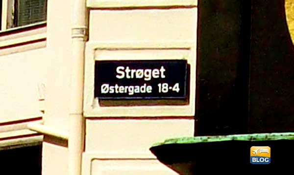 Stroget a Copenaghen