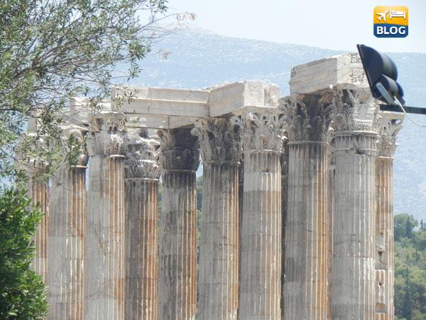 Colonne del Tempio di Zeus Olimpio ad Atene