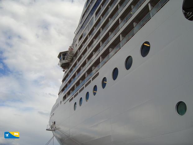Ponti delle navi da crociera