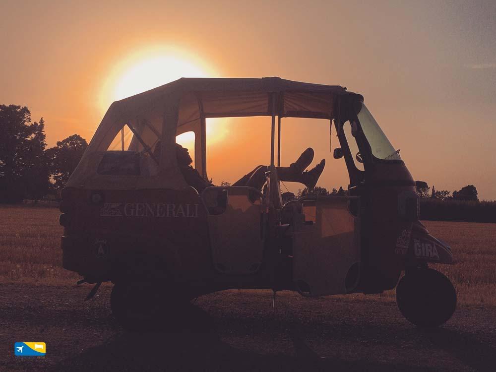 Foto tramonto The Gira