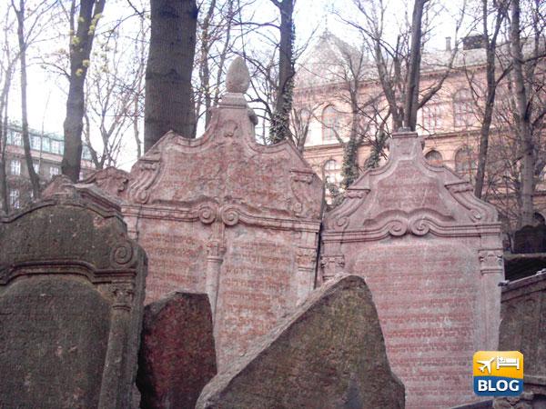 La tomba di Rabbi Jydah Loew a Praga