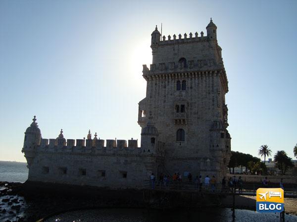 Torre di Belèm al tramonto