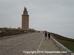 Altra veduta della Torre di Ercole