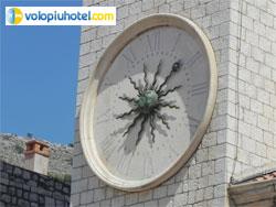 Torre dellorologio a Dubrovnik