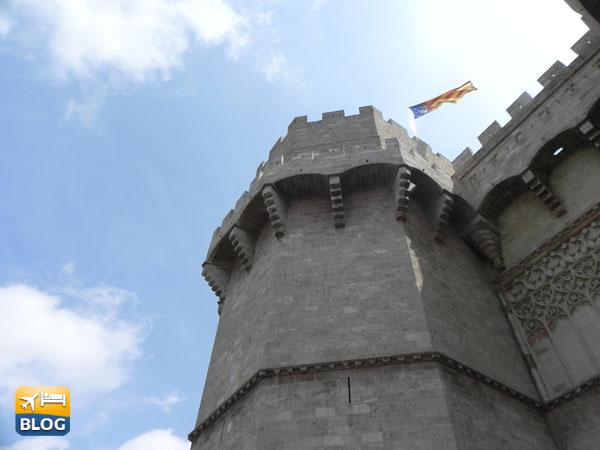 Torres de Serranos a Valencia