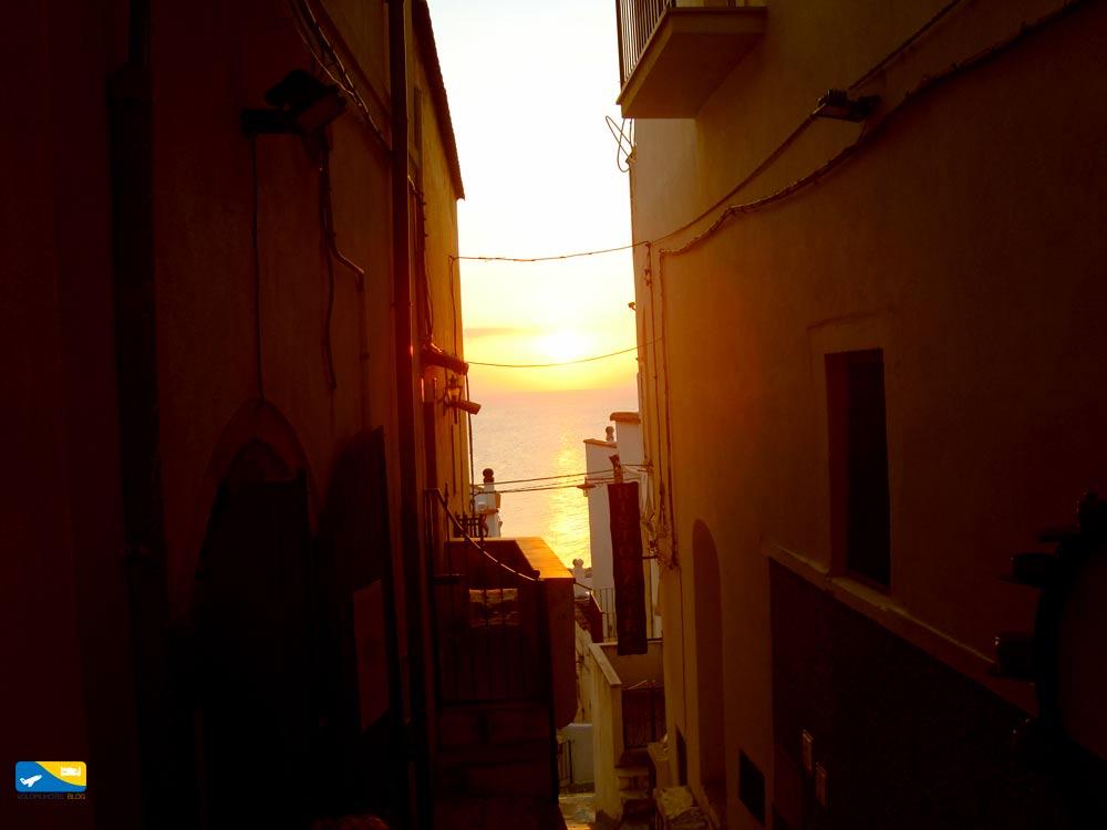Uno dei tanti tramonti a Peschici