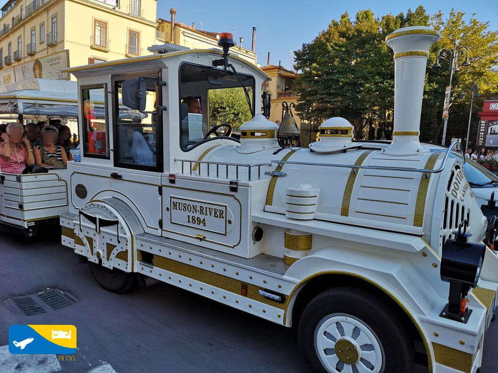 Trenino turistico di Sorrento