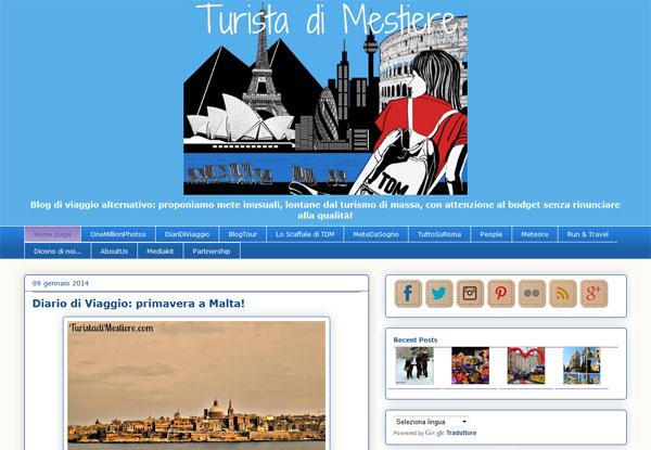 Blog Turistadimestiere.com