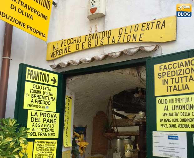 Vecchio Frantoio a Peschici ingresso