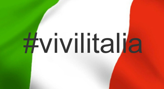 #vivilitalia l'hastag