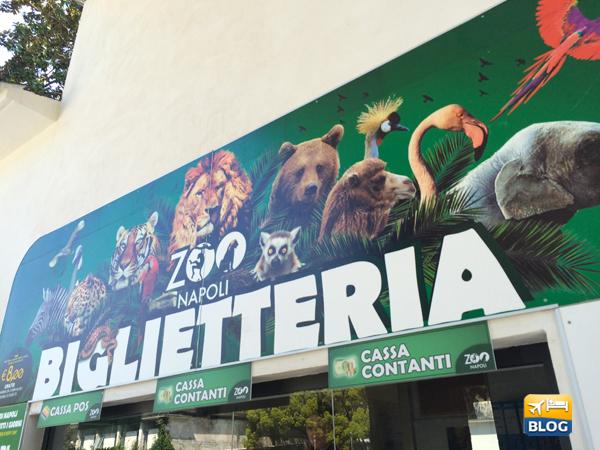 Biglietteria dello Zoo di Napoli
