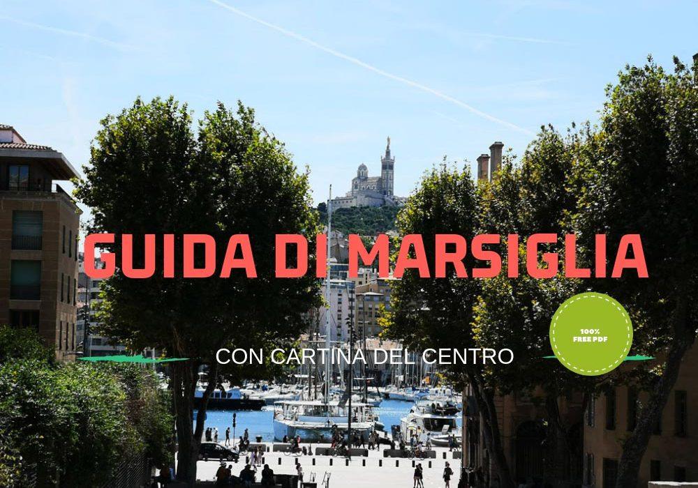 Guida e cartina del centro di Marsiglia gratis