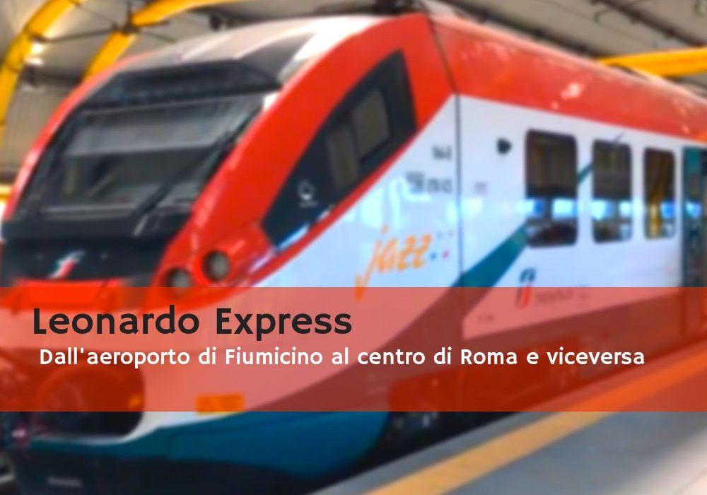 Leonardo Express dalla stazione all'aeroporto di Roma