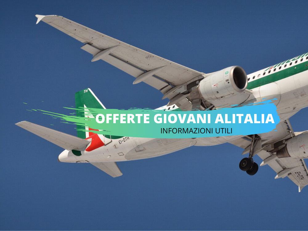 Offerte Alitalia giovani come prenotare