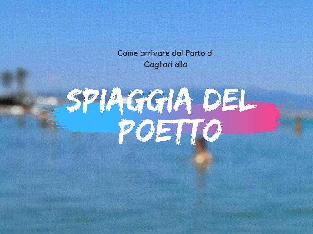 Spiaggia del Poetto a Cagliari