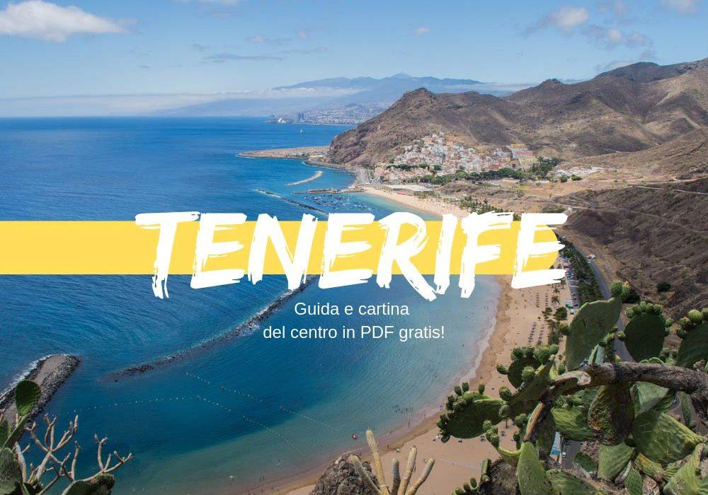 Guida e cartina di Tenerife gratis