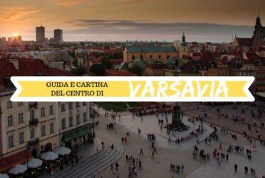 Guida e cartina del centro di Varsavia