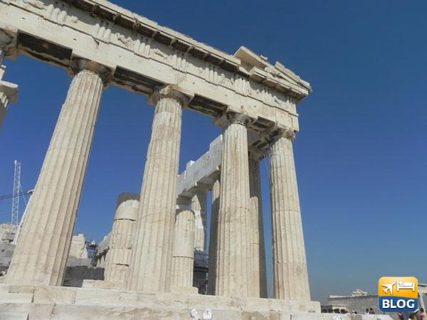 5 ricordi dell'Acropoli di Atene in foto