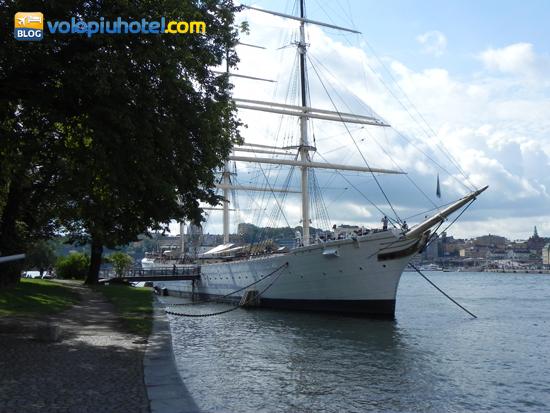 L'Af Chapman a Stoccolma un ostello della gioventù galleggiante