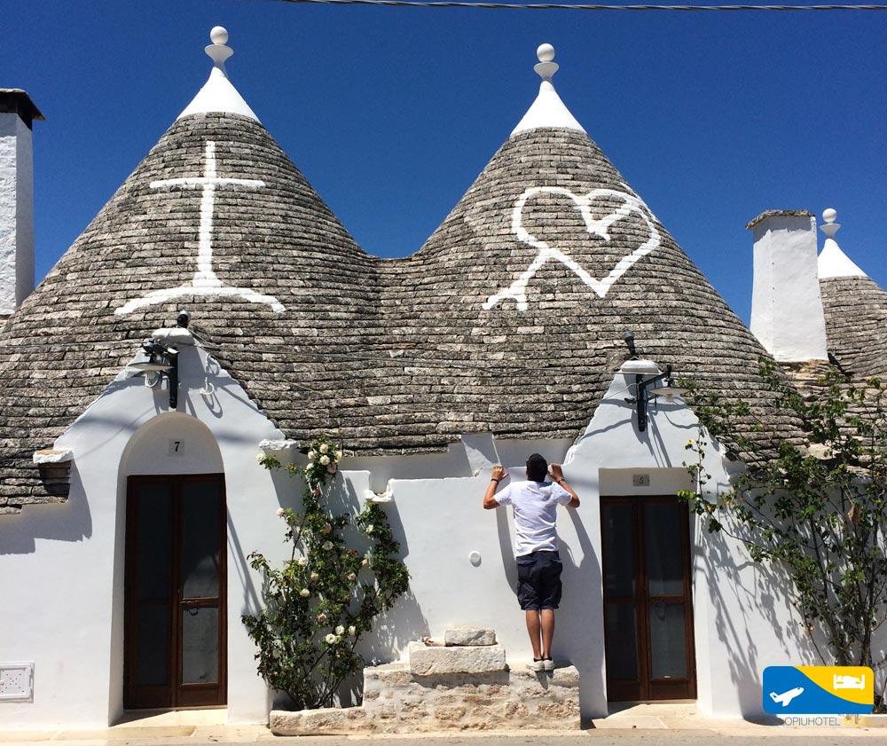 Io ad Alberobello