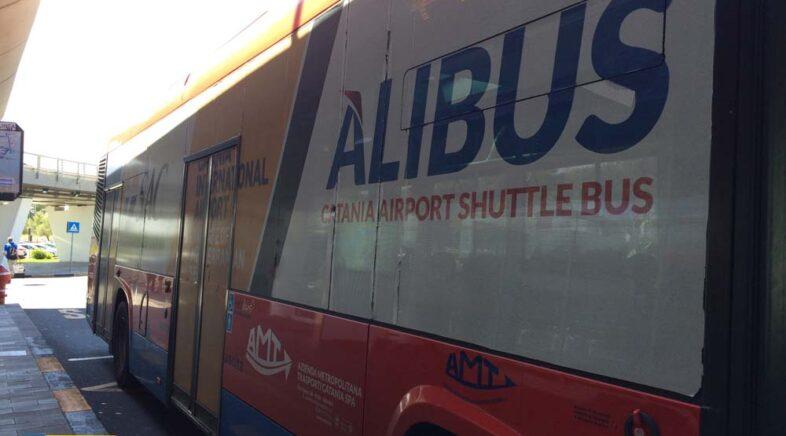 Dall'Aeroporto di Catania al centro con il bus