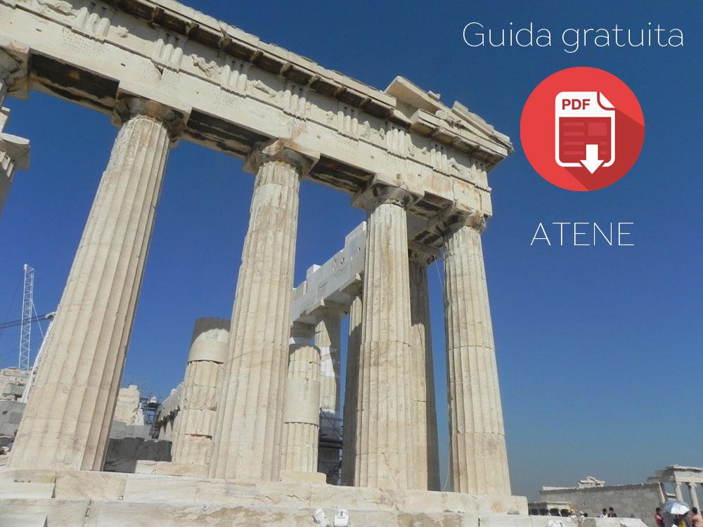 Guida di Atene con cartina del centro