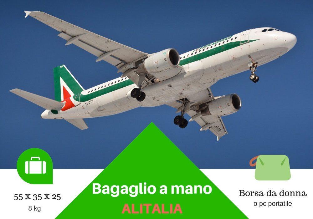 Bagaglio a mano Alitalia peso misure e consigli