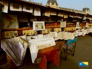 Bancarelle di libri sulla riva della Senna