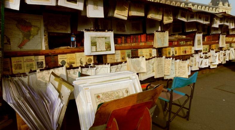 Bancarelle di libri sulle rive della Senna dove trovarle