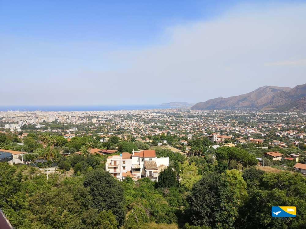 Panorama di Monreale