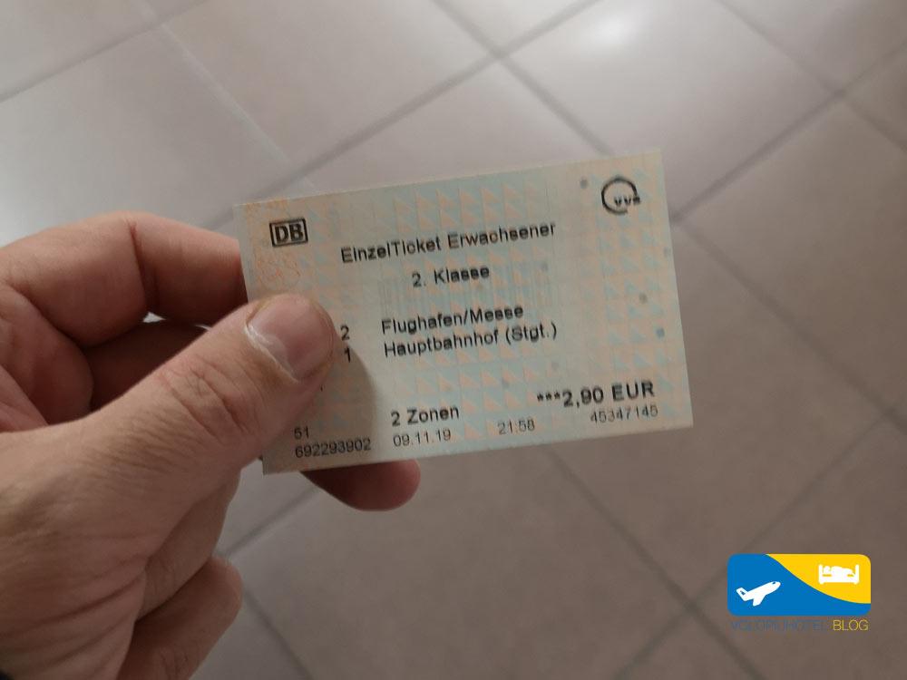 Biglietto Aeroporto Stoccarda centro