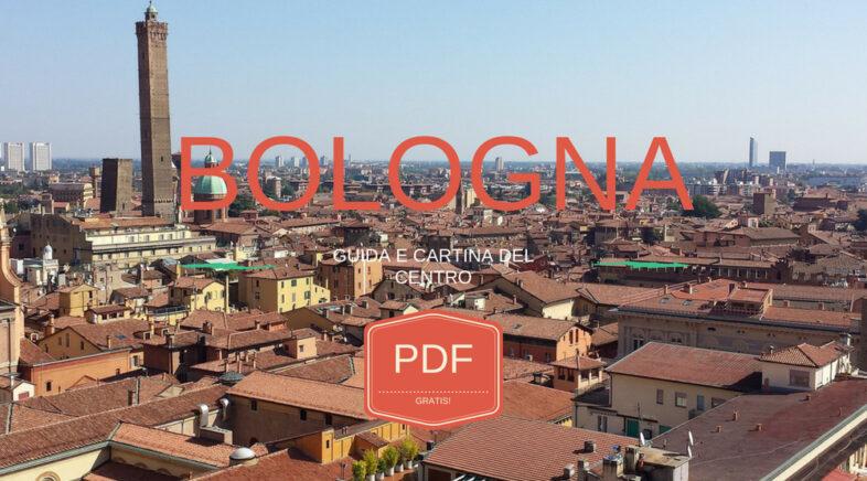Guida e cartina del centro di Bologna da stampare