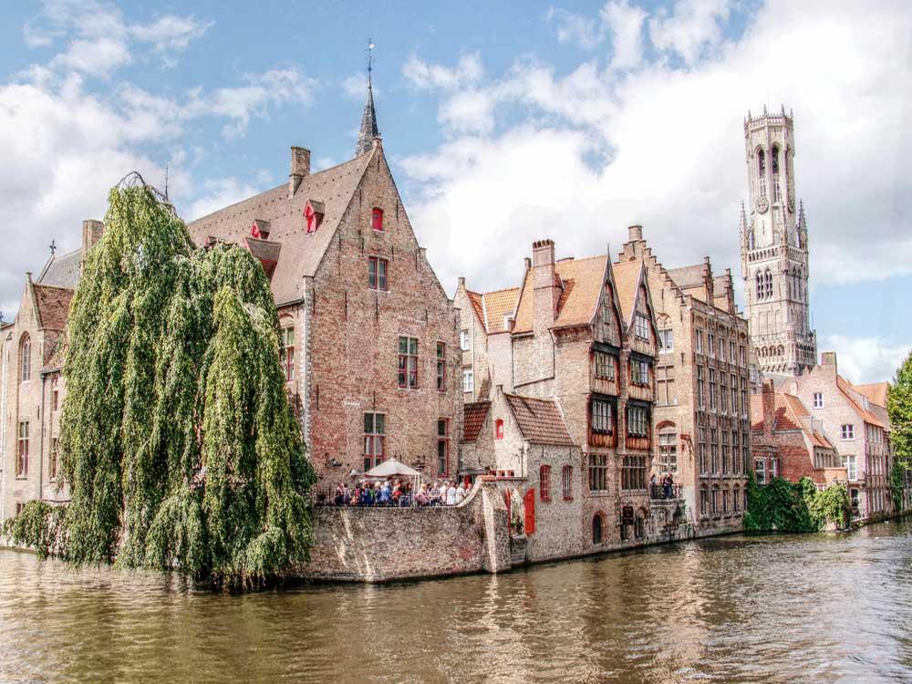 Guida e cartina del centro di Bruges gratis