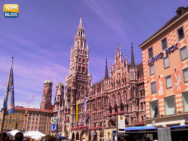 Il carillon di Marienplatz a Monaco di Baviera come vederlo