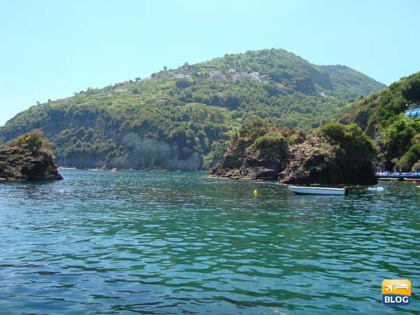 Baia di Cartaromana ad Ischia come arrivare