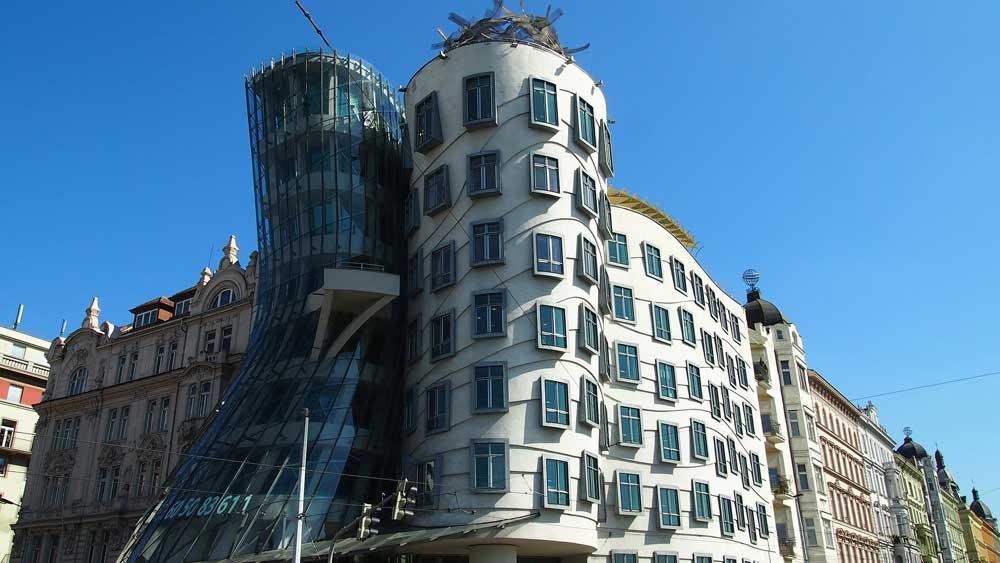La casa danzante a Praga