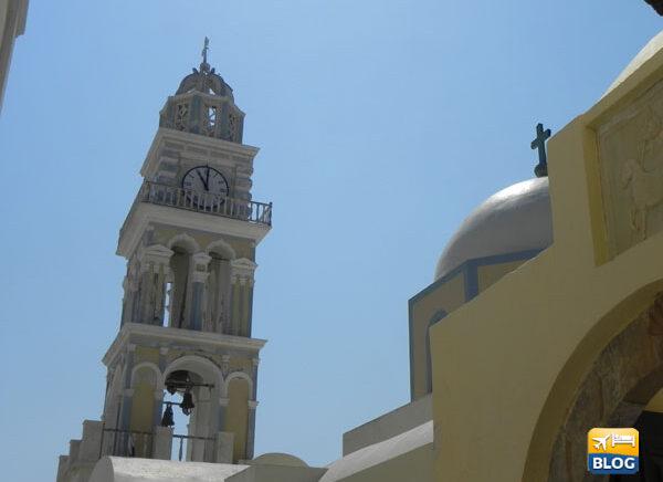 Visitare la Cattedrale di San Giovanni Battista a Santorini