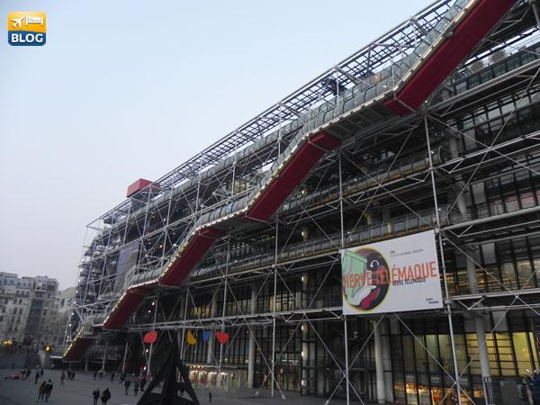 Centro Pompidou a Parigi orari e prezzi