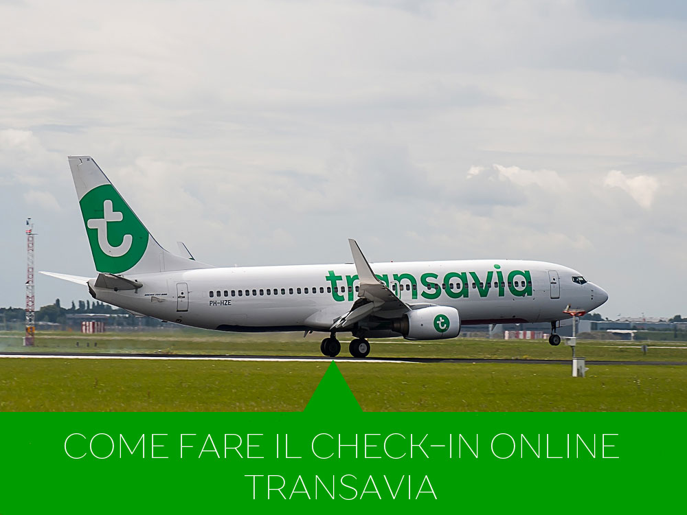 Come fare il check-in online Transavia