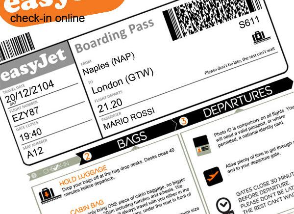 Come fare il check-in online con Easyjet