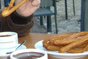 Churros a Madrid