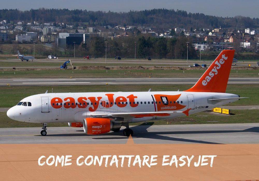 Come contattare Easyjet costi e modalità