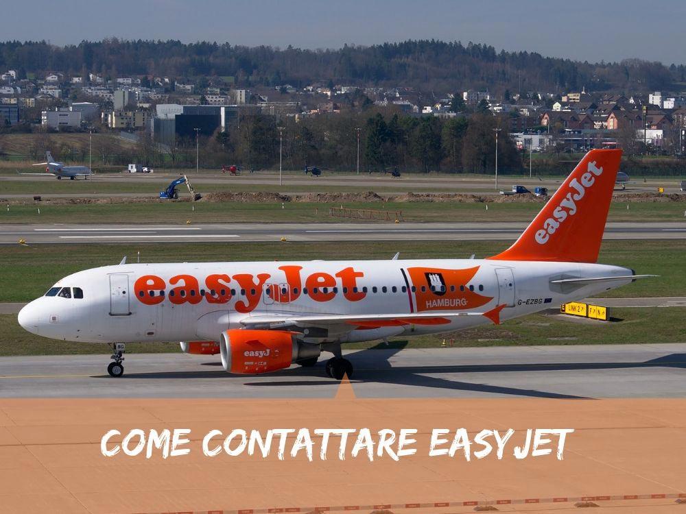 Come contattare Easyjet