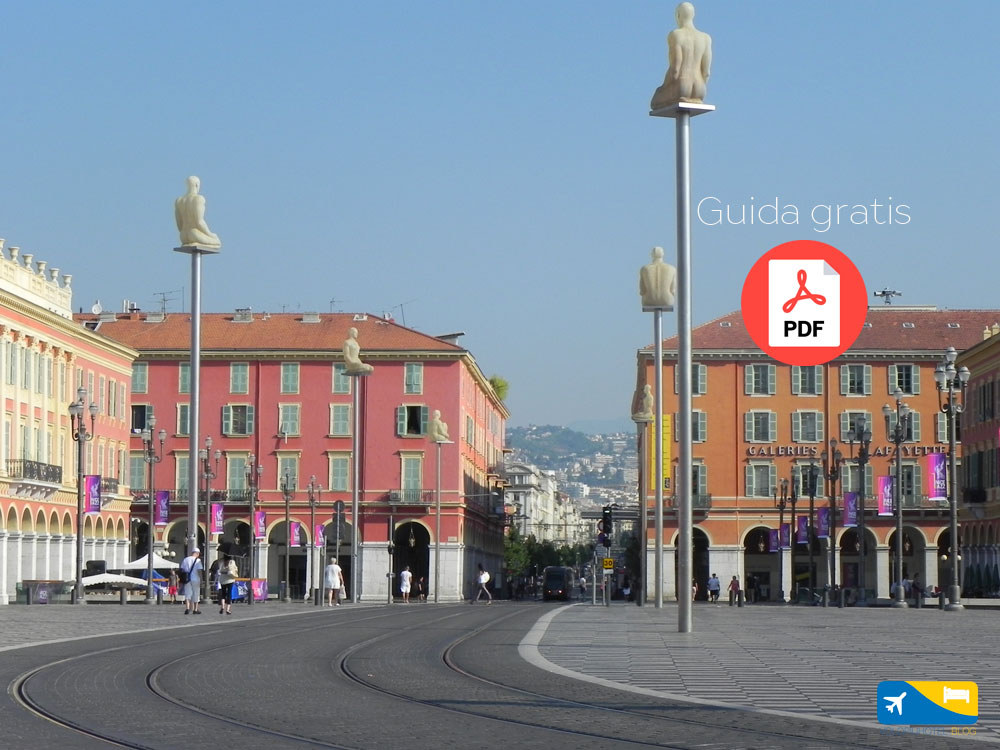 Guida e cartina del centro di Nizza