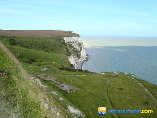 A piedi sulle bianche scogliere di Dover