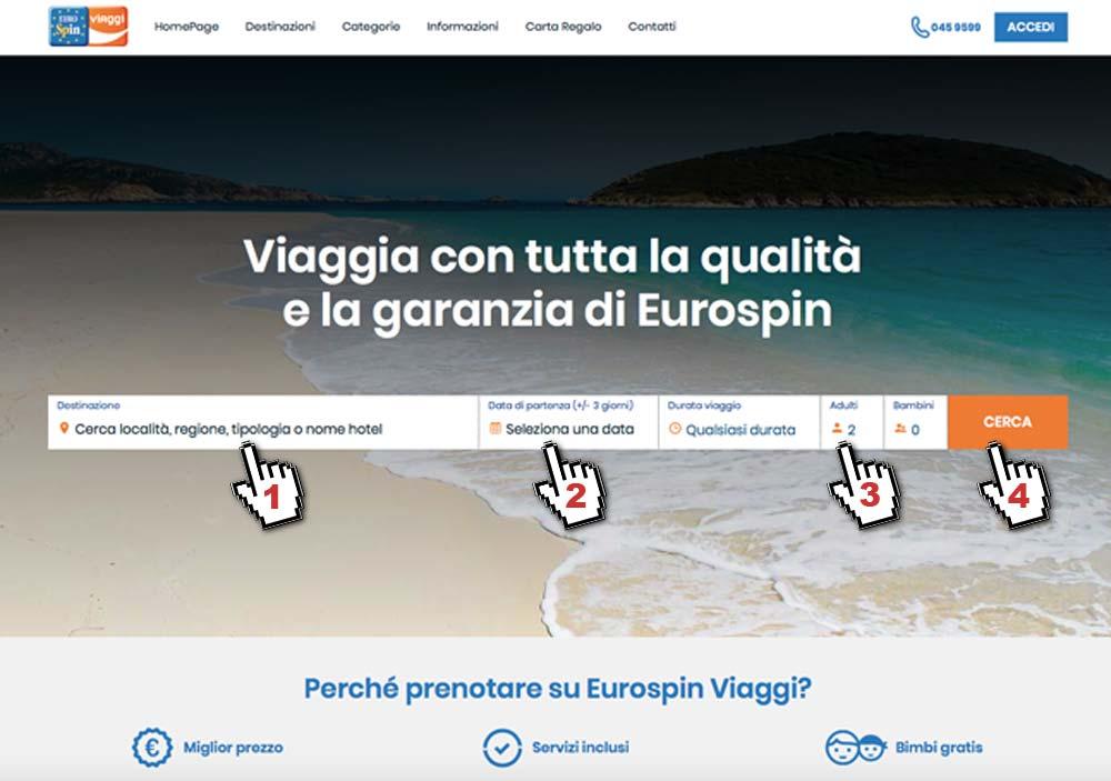 tutorial eurospin viaggi