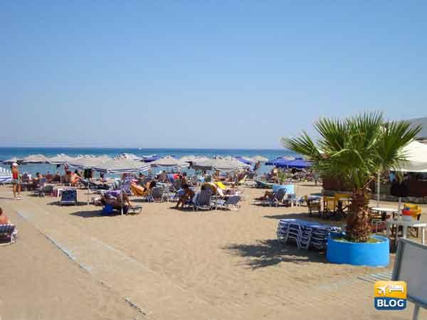 Spiaggia di Faliraki a Rodi come arrivare