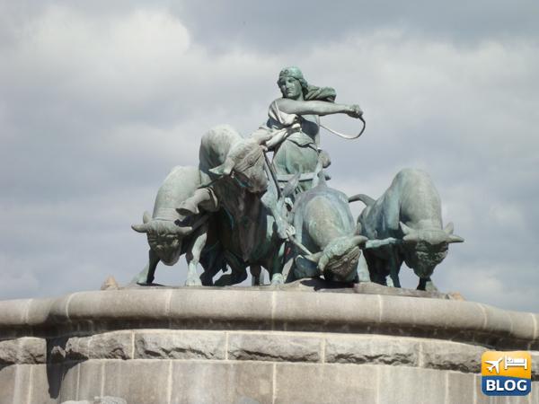 Visitare la fontana di Gefion a Copenaghen